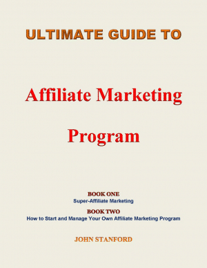 cover book of Ultimate Guide To Affiliate Marketing Program