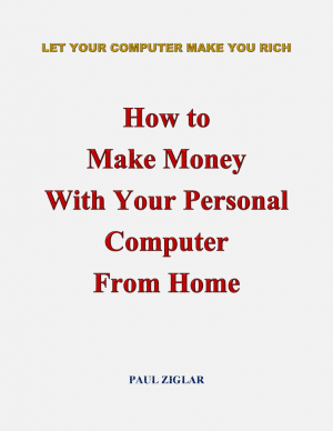 cover book of How to Make Money with Your Personal Computer From Home