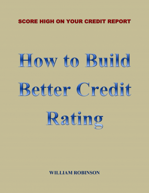 cover book of How to Build Better Credit Rating
