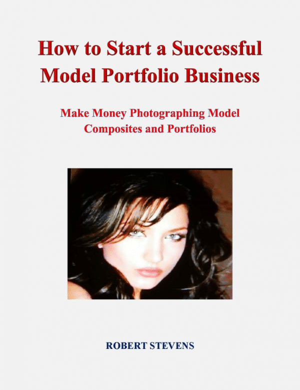 cover book of How to Start a Successful Model Portfolio Business