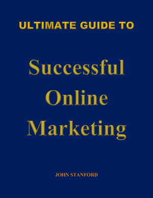cover book of Ultimate Guide to Successful Online Marketing